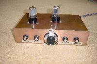 Twin double-triode 80m regenerative receiver